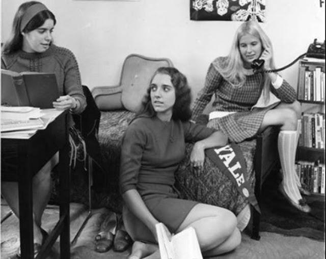 Yale female students 1969